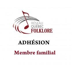 Adhésion Membre familial